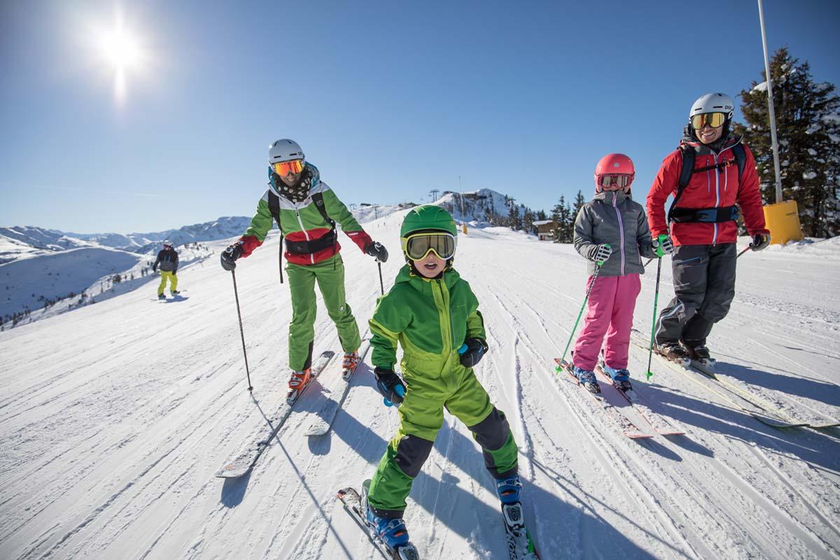 Skifahren im Alpbachtal